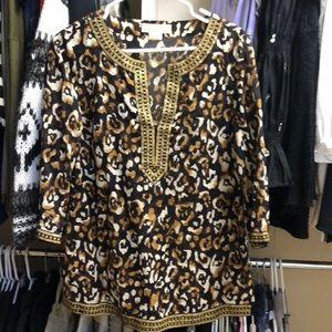Michael Kors Leopard Tunic